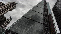 Time Lapse of the Leadenhall Building, London Stock Footage