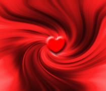 Heart swirl Stock Photos