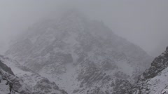 Snowfall in the Himalayas in Ladakh in India 2 Arkistovideo