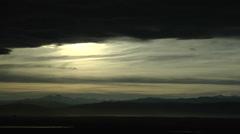 Hazy Sunset Stock Footage