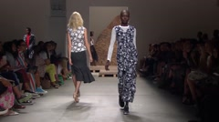 New York Fashion Week 2015 - Creatures of The Wind Spring Collection - stock footage