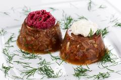 Jellied Meat Stock Photos