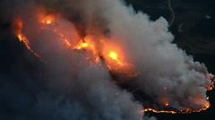Black Hills Inferno Stock Footage