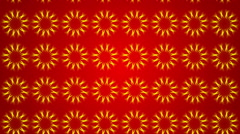Red abstract background, moving ornament, loop Stock Footage