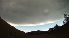 Rain Squalls Stock Footage