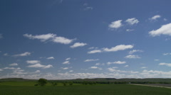 Fair Weather Clouds Stock Footage