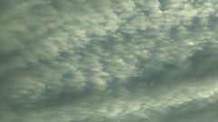 Stock Video Footage of Altocumulus Layer