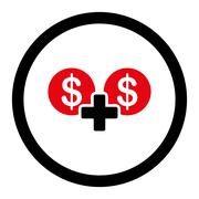 Sum icon - stock illustration