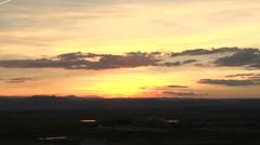 Volcanic Sunset Stock Footage