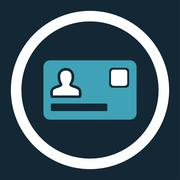 Banking Card icon Stock Illustration