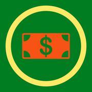 Banknote icon - stock illustration