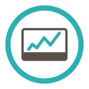 Stock Illustration of Stock Market icon