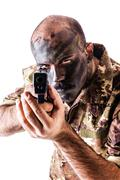Armed Soldier Stock Photos