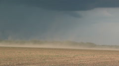 Dusty Thunderstorm Stock Footage