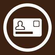 Banking Card icon - stock illustration