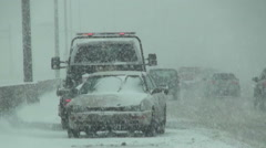 Roadside Assistance Stock Footage