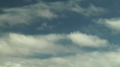 Two Way Clouds Stock Footage