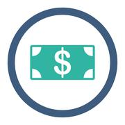 Banknote icon - stock illustration