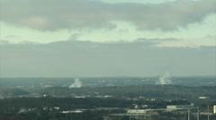 Cloud Making Machines Stock Footage