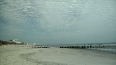 Low Tide for Now Stock Footage
