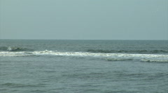 Gentle Atlantic Surf Stock Footage