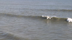 Gentle Surf Stock Footage