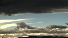 Turbulent Clouds Stock Footage