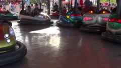 Fair Attaction - Crazy Jam Cars Stock Footage