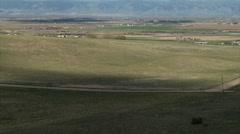 Cloud Shadows Racing Across Colorado Rangeland Stock Footage