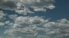 Fraying Cumulus Stock Footage