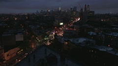 Park Slope Brooklyn New York Stock Footage