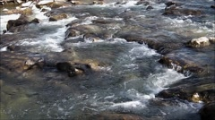 Man made river rapids. Stock Footage