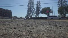 Kaiser permanente los Angeles hospital drone Stock Footage