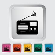 Stock Illustration of Radio icon