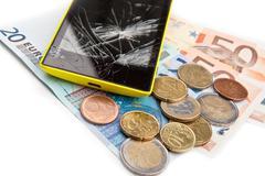 Repair expenses - stock photo