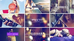Stock After Effects of Style & Trendy Slide show