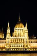Budapest Parliament Building Stock Photos
