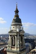 Budapest Stephen Basilica Stock Photos