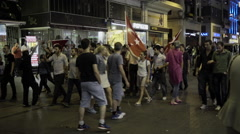 Following Turkish protests in Taksim square Stock Footage