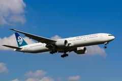 Air New Zealand Boeing 777 - stock photo
