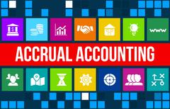 Accrual Based Accounting - stock illustration