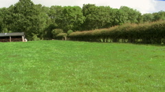 Country Field in Spring Stock Footage