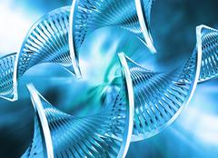 Abstract DNA - stock photo