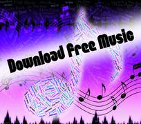 Download Free Music Shows No Charge And Application Stock Illustration