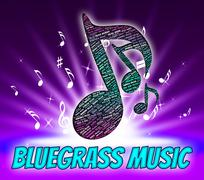 Bluegrass Music Indicates Sound Tracks And Acoustic Piirros