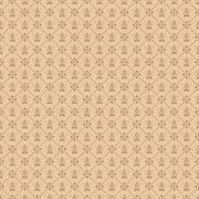 Decorative seamless wallpaper - stock illustration