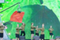 Festival concert show theme blur background - stock photo