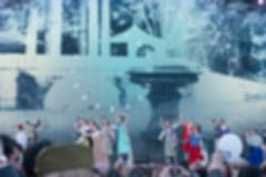 Festival concert show theme blur background Stock Photos