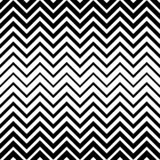Seamless zigzag line pattern Stock Illustration