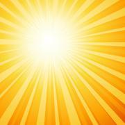 Sunburst Stock Illustration